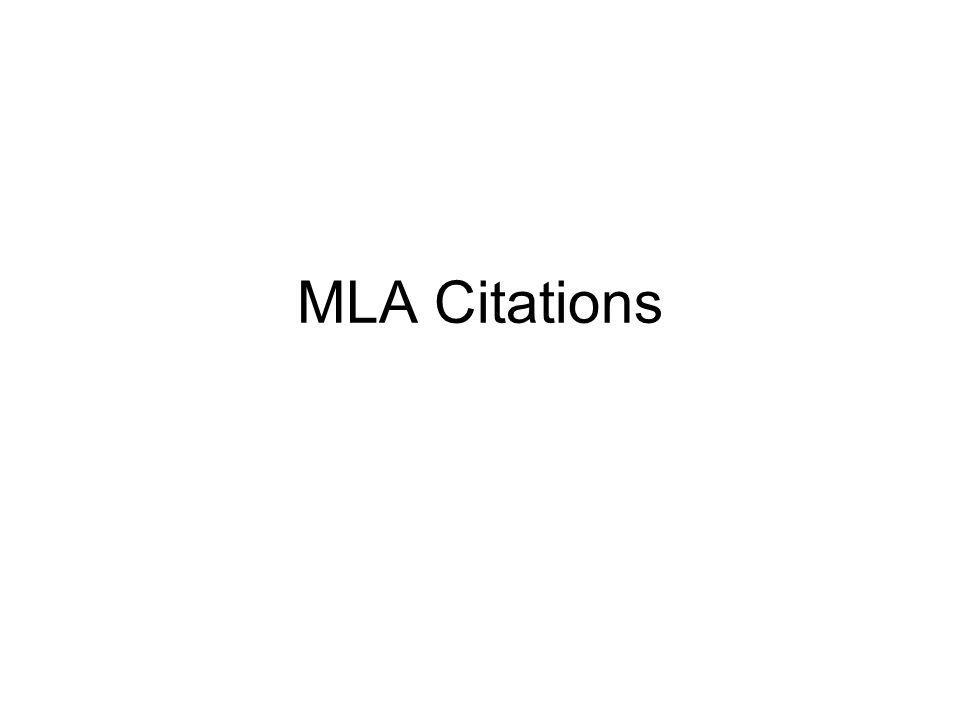 Words for citation
