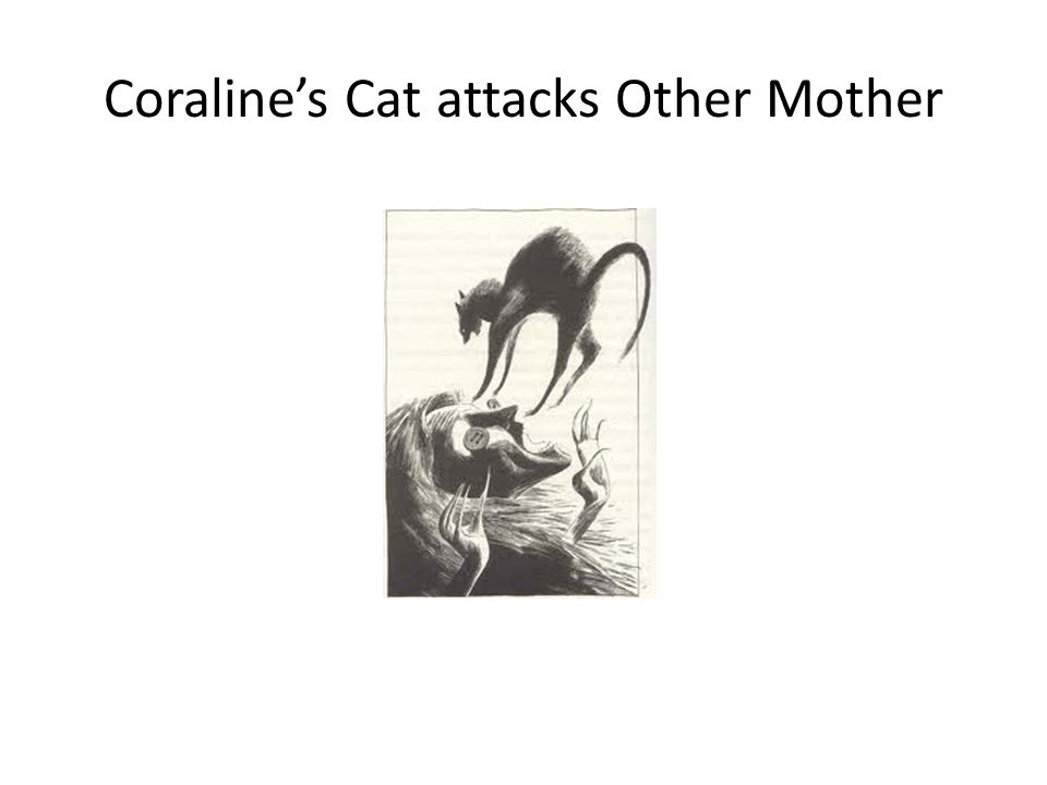 Coralines Cat attacks Other Mother