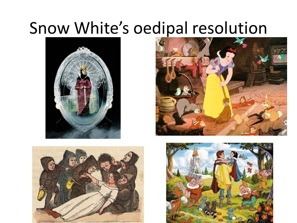Snow Whites oedipal resolution