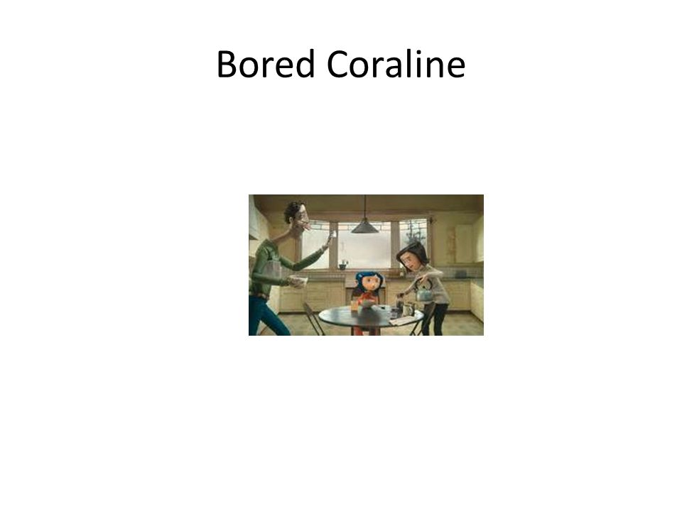 Coraline finds the well
