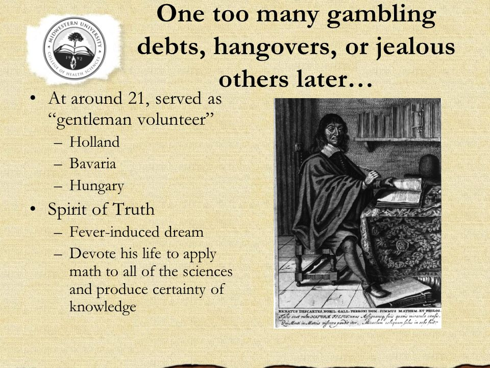 One too many gambling debts, hangovers, or jealous others later… At around 21, served as gentleman volunteer –Holland –Bavaria –Hungary Spirit of Trut