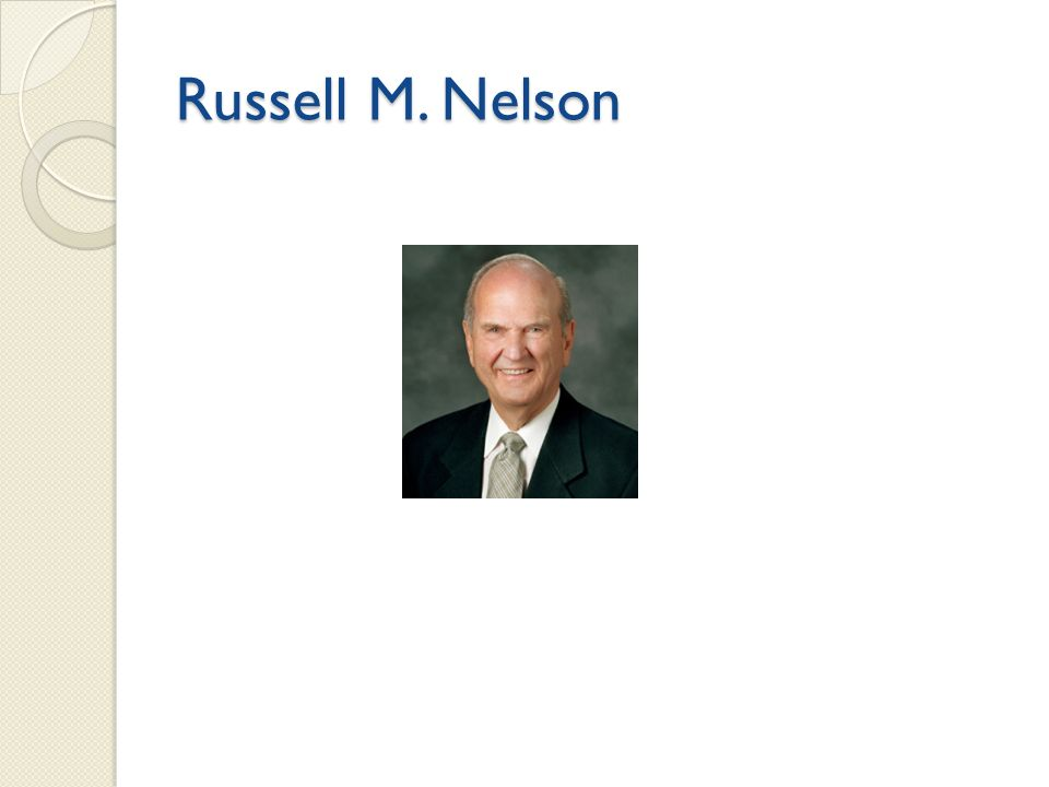 Russell M. Nelson