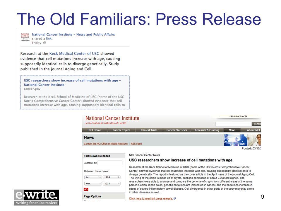 4. We know its old content, but its still interesting © E-WRITE 201320