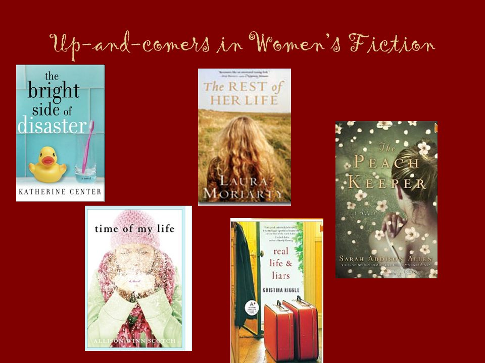 Up-and-comers in Womens Fiction
