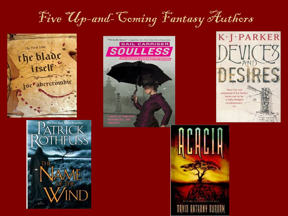 Five Up-and-Coming Fantasy Authors