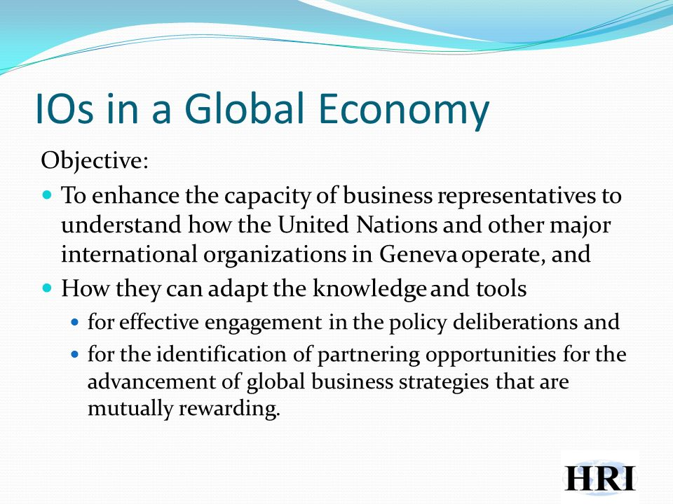 The Role of the UN Inter-Agency Team to Support the Global Compact Coherence between UN and business activities Complementarity of initiatives Collaboration among the key UN agencies Maximum effectiveness Internalizing the Global Compact principles Guiding role on integrity and activities of the 10 principles