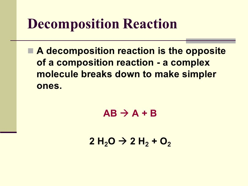 Combination Reactions We can predict the products of ionic compounds by thinking about the charge! Al (s) + O 2 (g) Cu (s) +S (s) Are there 2 possible
