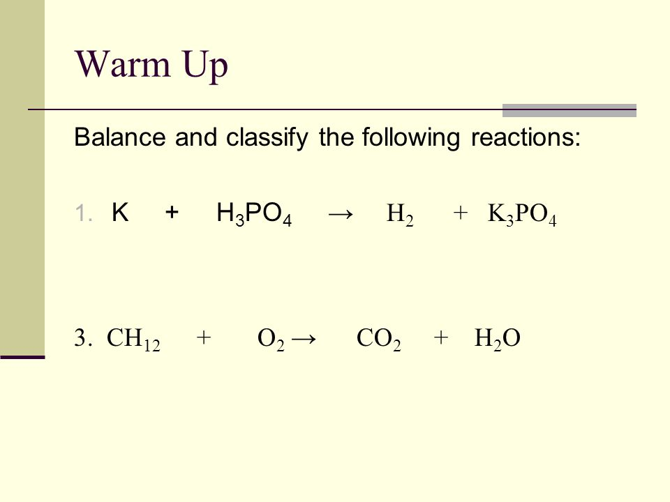 Warm Up Quiz 1. Determine the molar mass of Na 3 PO 4 2. How many moles in 10.6g of Na 3 PO 4 3. How many atoms in 0.50 mol Al? 4. How many atoms in 3