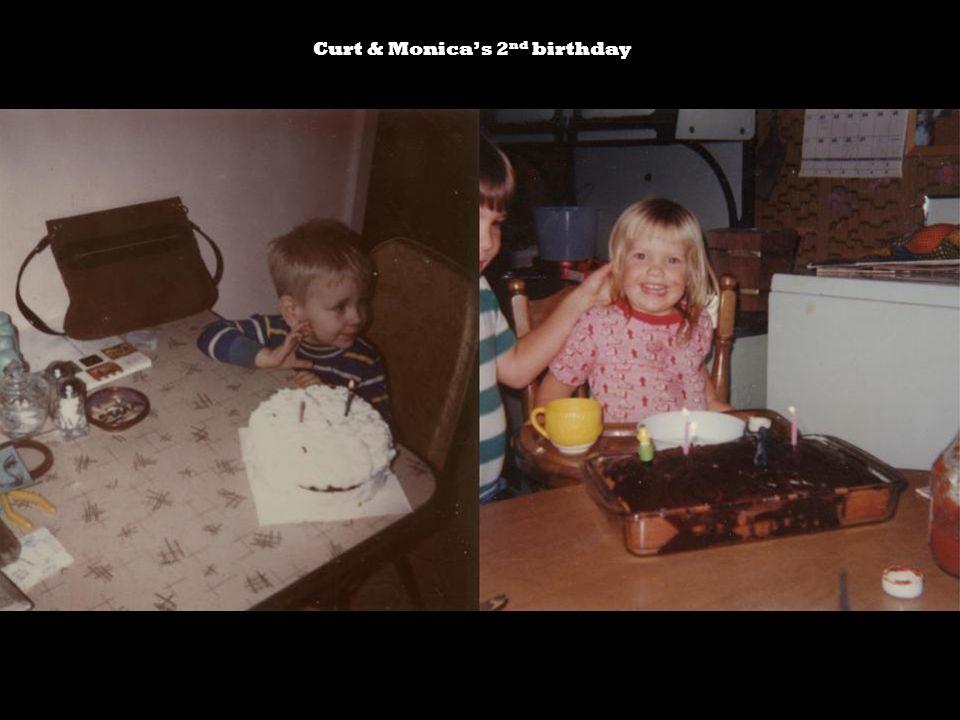 Curt & Monicas 2 nd birthday