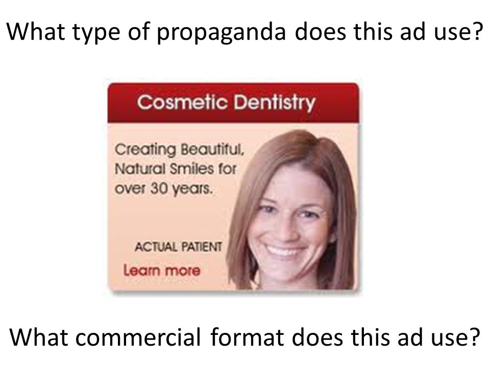 Commercial Formats Testimonial – This is what happened to me.