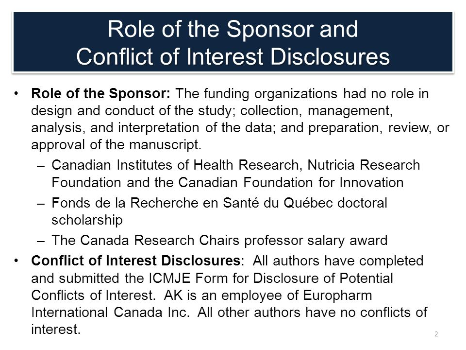 Role of the Sponsor: The funding organizations had no role in design and conduct of the study; collection, management, analysis, and interpretation of