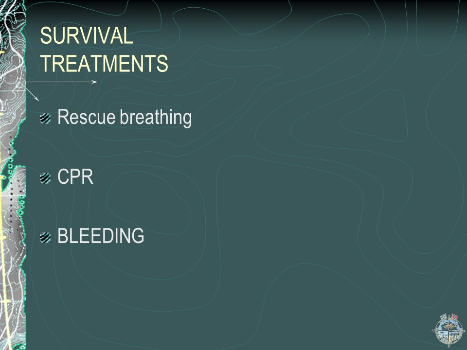 SURVIVAL EXAMINATION,,,contd SECONDARY EXAM NON CRITICAL INJURIES head neck spine chest and shoulders abdomen pelvis arm and legs