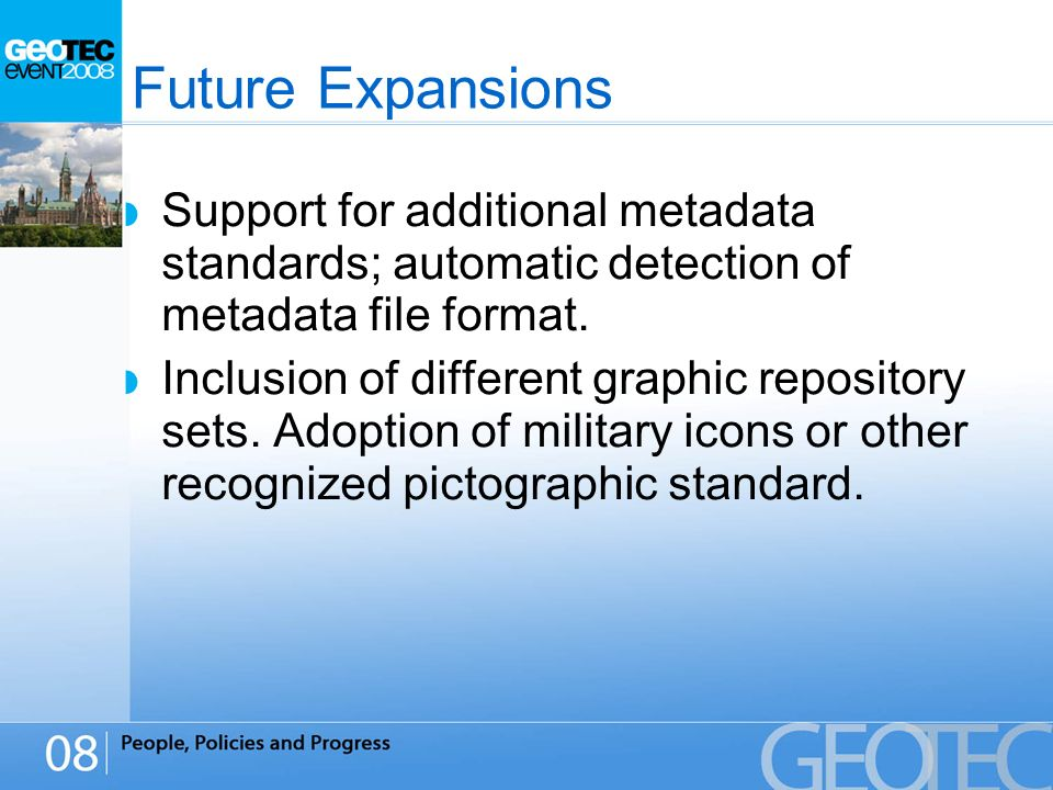 Support for additional metadata standards; automatic detection of metadata file format.