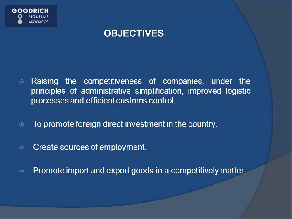 REQUIREMENTS In accordance with Rule 2.3.6 and the Process Instructive in order to enable a real state for the entry of goods under the Strategic Bonded Warehouse regime and the authorization for its administration of the General Character Rules in the Foreign Trade Matter, the requirements are: Certified copy of articles of incorporation, with the integration and shareholders of the capital stock, in which it must prove a minimum fixed and variable paid capital of $ 1 000, 000.00 and, where appropriate, modifications to it, in which the registration information in the Public Registry of Commerce shall remain visible.