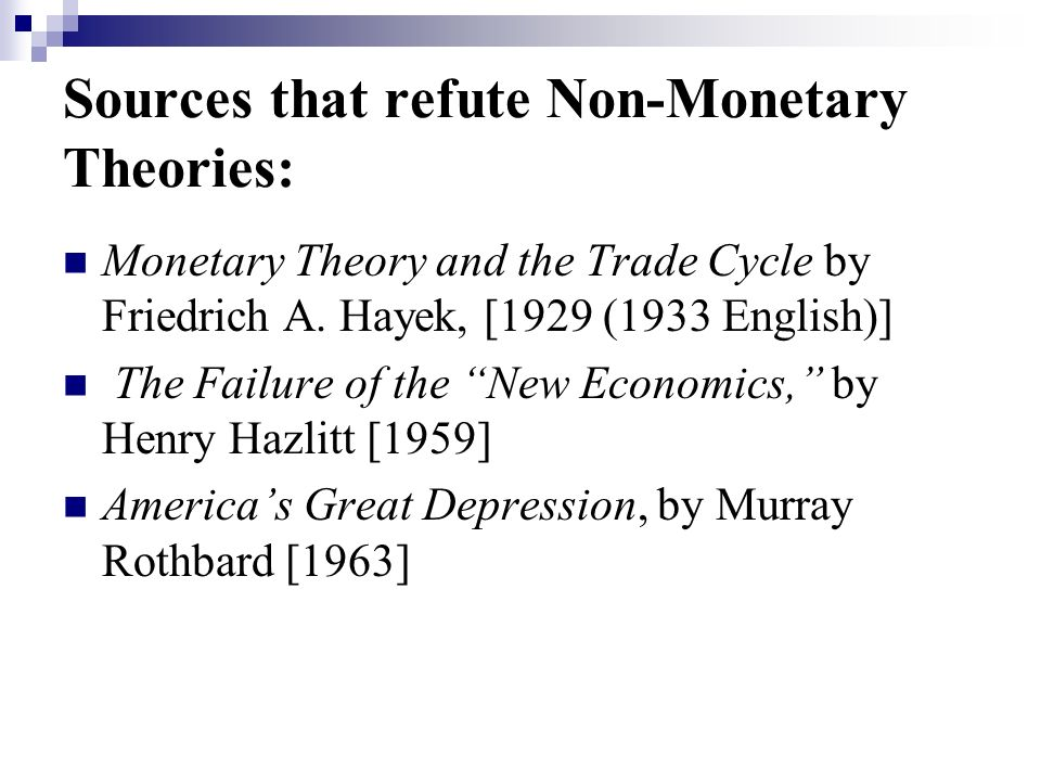 Implications: 1.Keynesian Policy cannot pull an economy out of a recession.