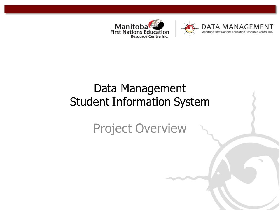 Data Management Student Information System Project Overview