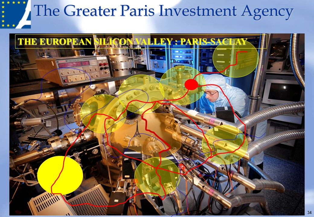 The Greater Paris Investment Agency THE EUROPEAN SILICON VALLEY : PARIS-SACLAY 34