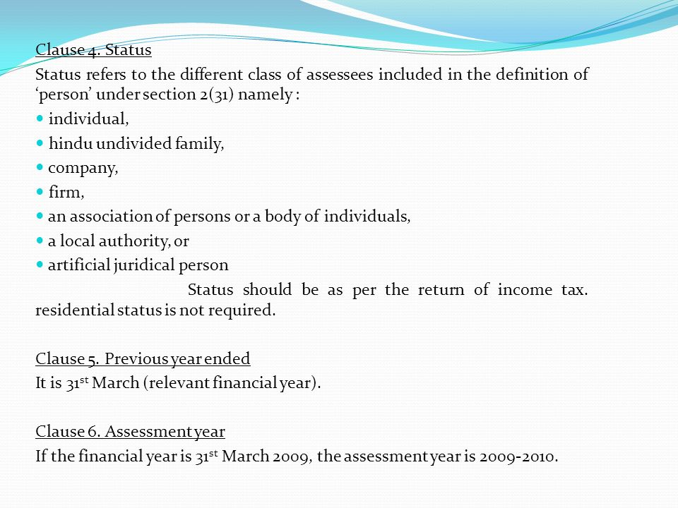 TAX AUDIT UNDER SECTION 44AB OF THE INCOME TAX ACT, 1961 Clause 21:- In respect of any sum referred to in clause (a), (b), (c), (d), (e) or (f) of section 43B, the liability for which; (A) pre-existed on the first day of the previous year but was not allowed in the assessment of any preceding previous year and was (a) paid during the previous year; (b) not paid during the previous year; Traced the amount of liability which was pre-existed on 1 st April 2008 from statements attached to the Tax audit report for clause 21(i)(A) & 21(i)(B) for the year ended 31 st March, 2008.