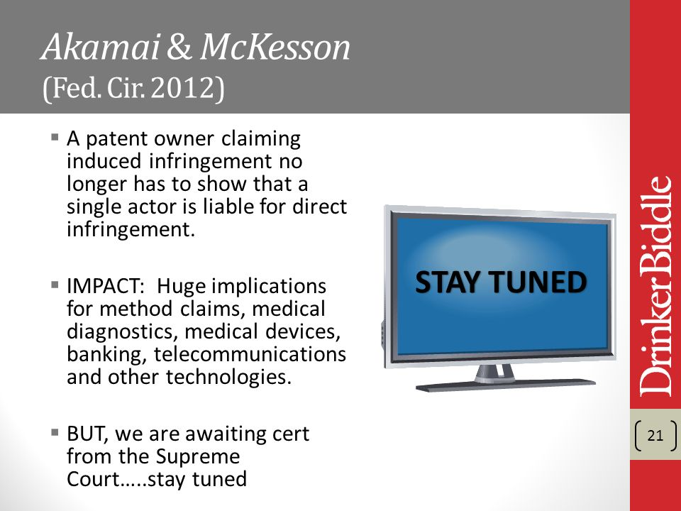 Akamai & McKesson (Fed. Cir.