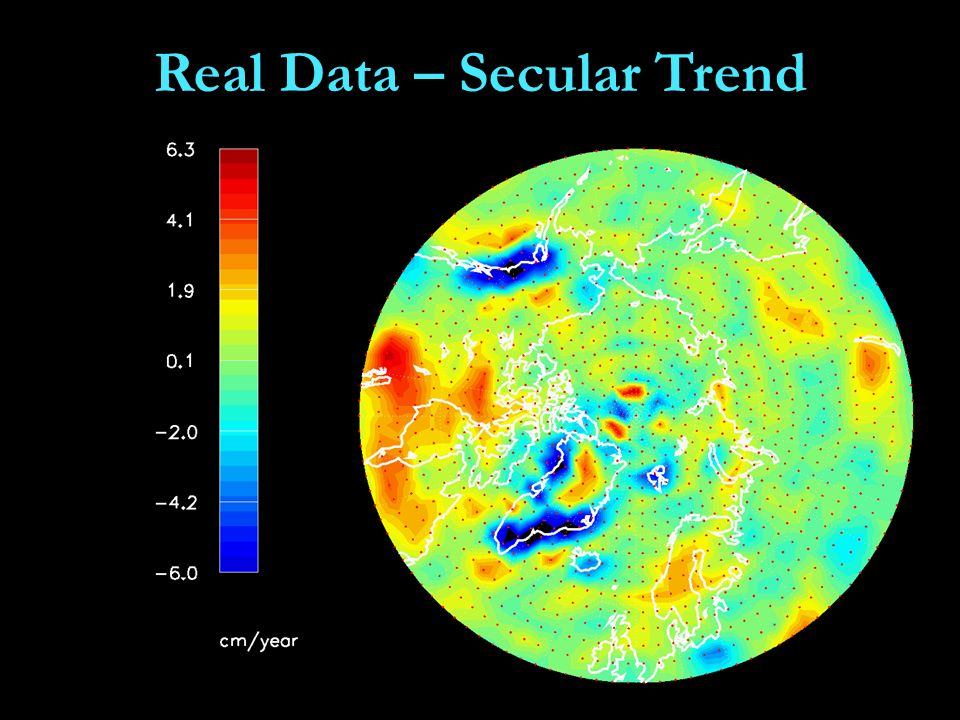 Real Data – Secular Trend