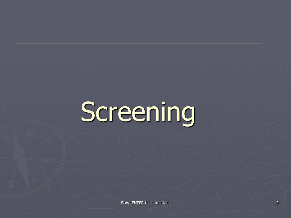 2 Screening