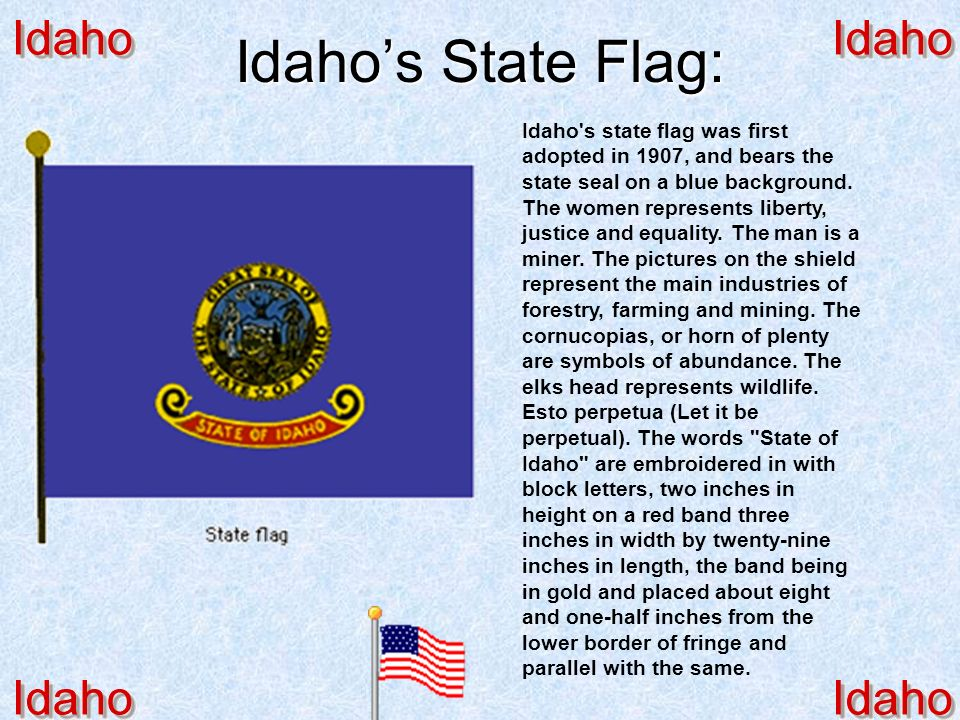 A Song or Poem about Idaho: Here We Have Idaho Written by McKinley Helm & Albert J. Tompkins Composed by Sallie Hume-Douglas Here We Have Idaho Writte