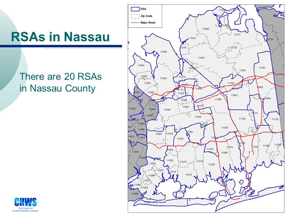 21 Long Island RSAs