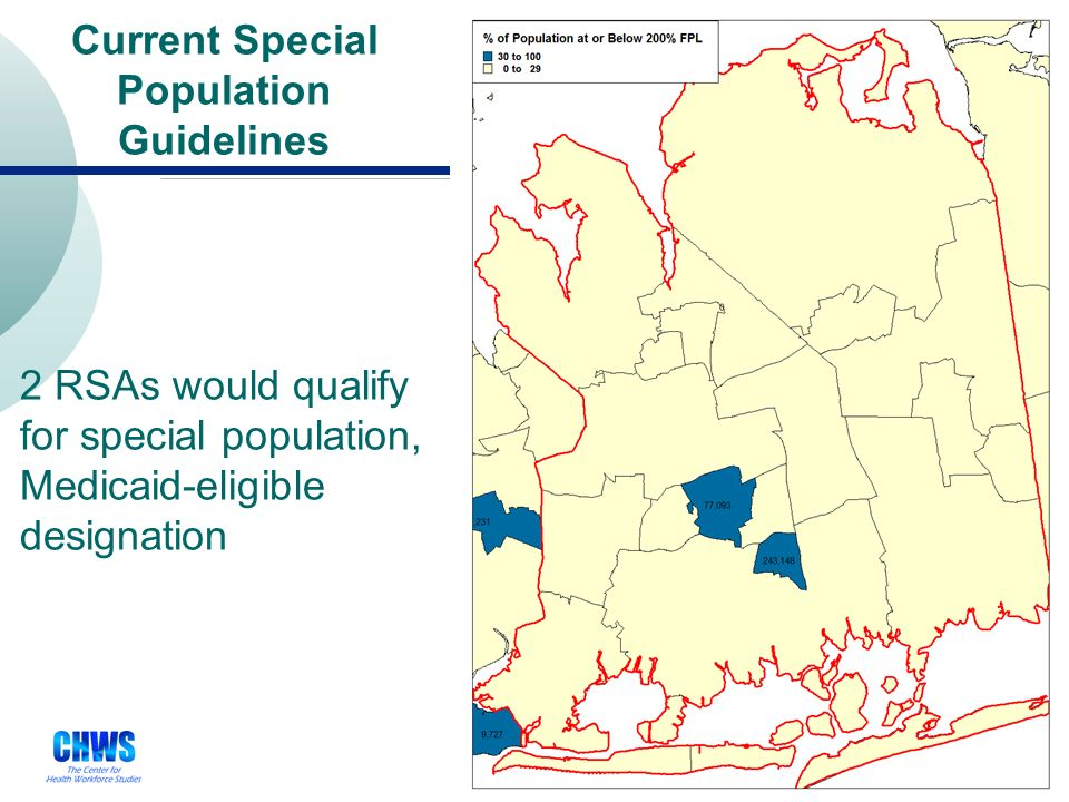 27 Under the 2008 proposed rules, 3 RSAs would qualify for primary care geographic HPSA designation 2008 Proposed HPSA Guidelines