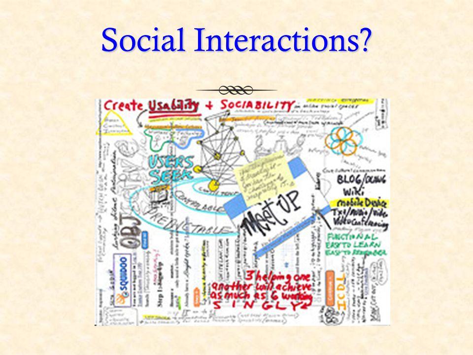 Social Interactions?