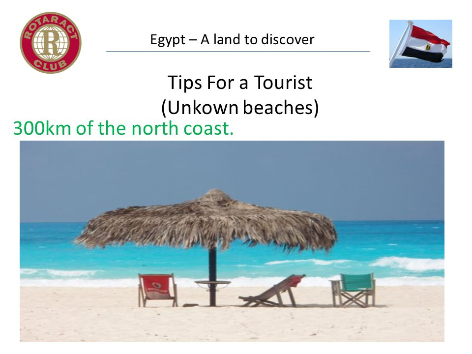 Egypt – A land to discover Tips For a Tourist (Unkown beaches) 300km of the north coast.