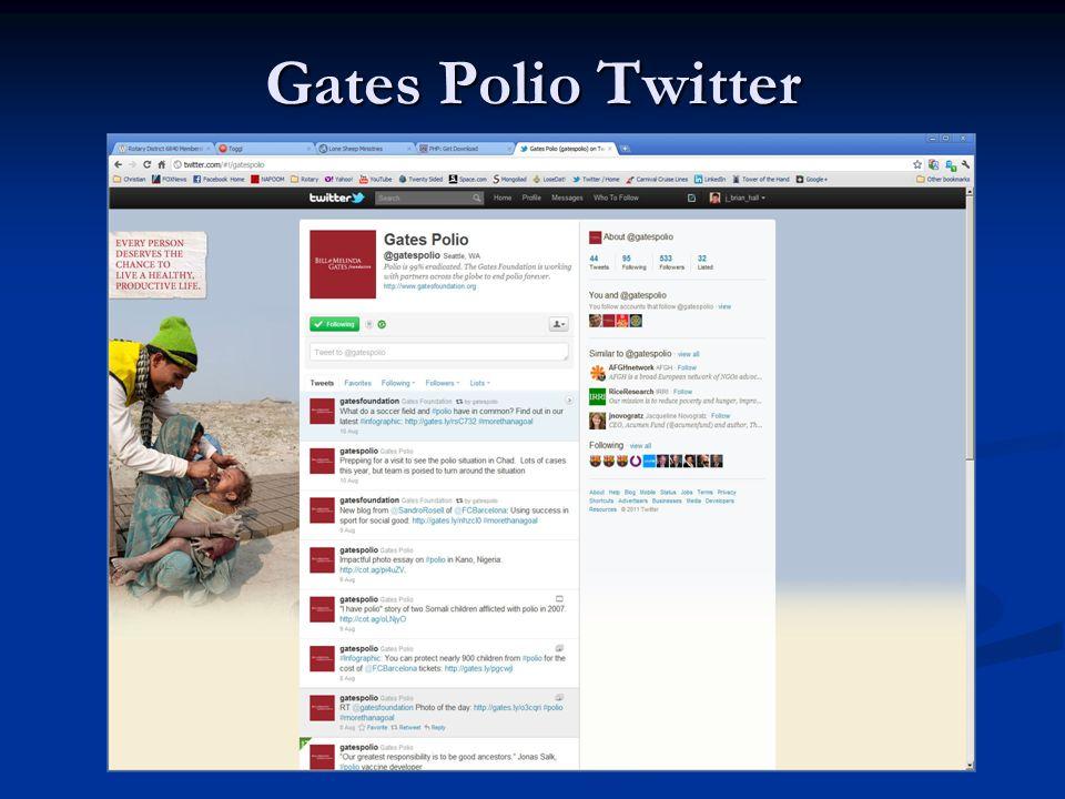 Gates Polio Twitter
