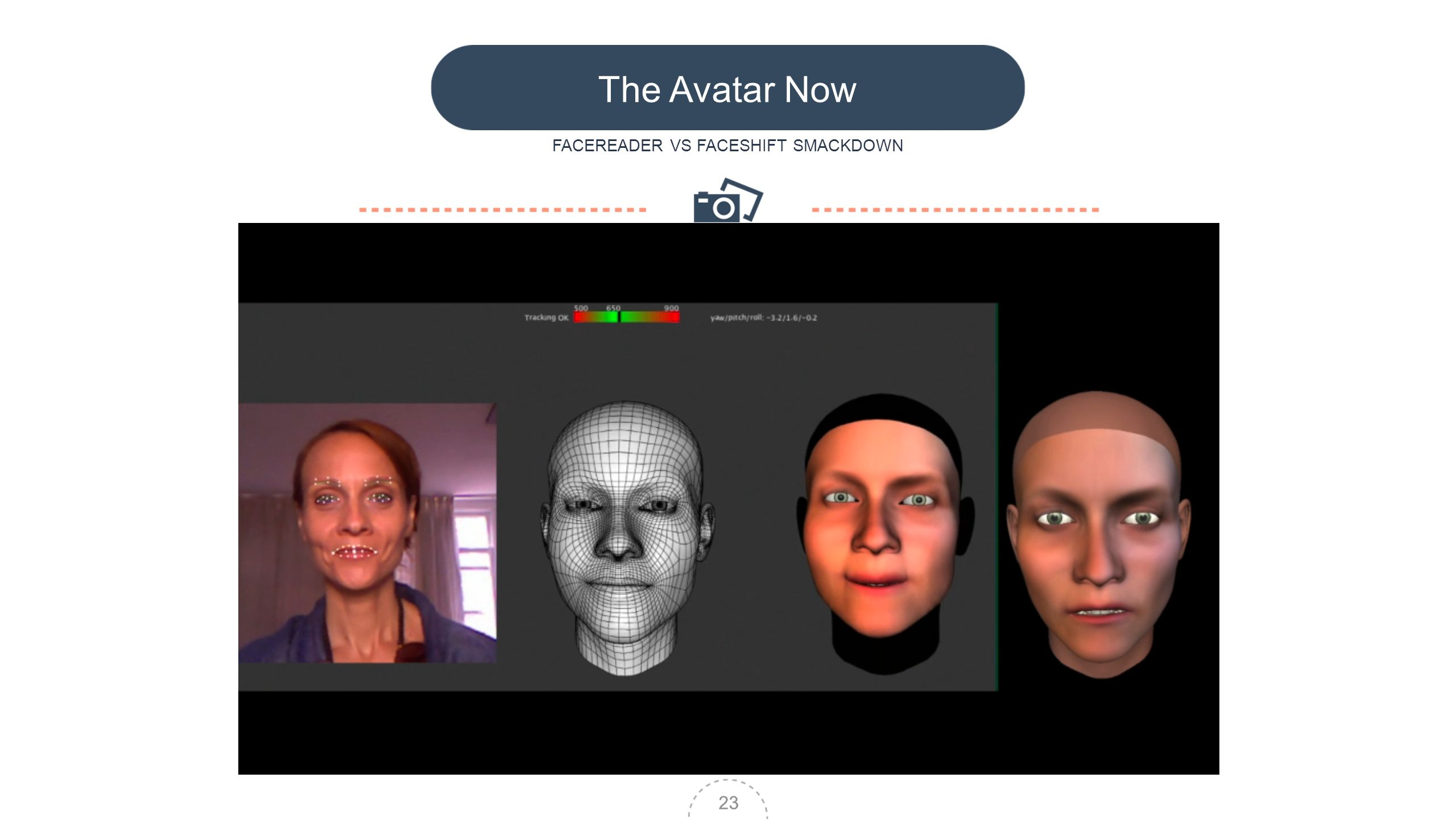 23 The Avatar Now FACEREADER VS FACESHIFT SMACKDOWN 23