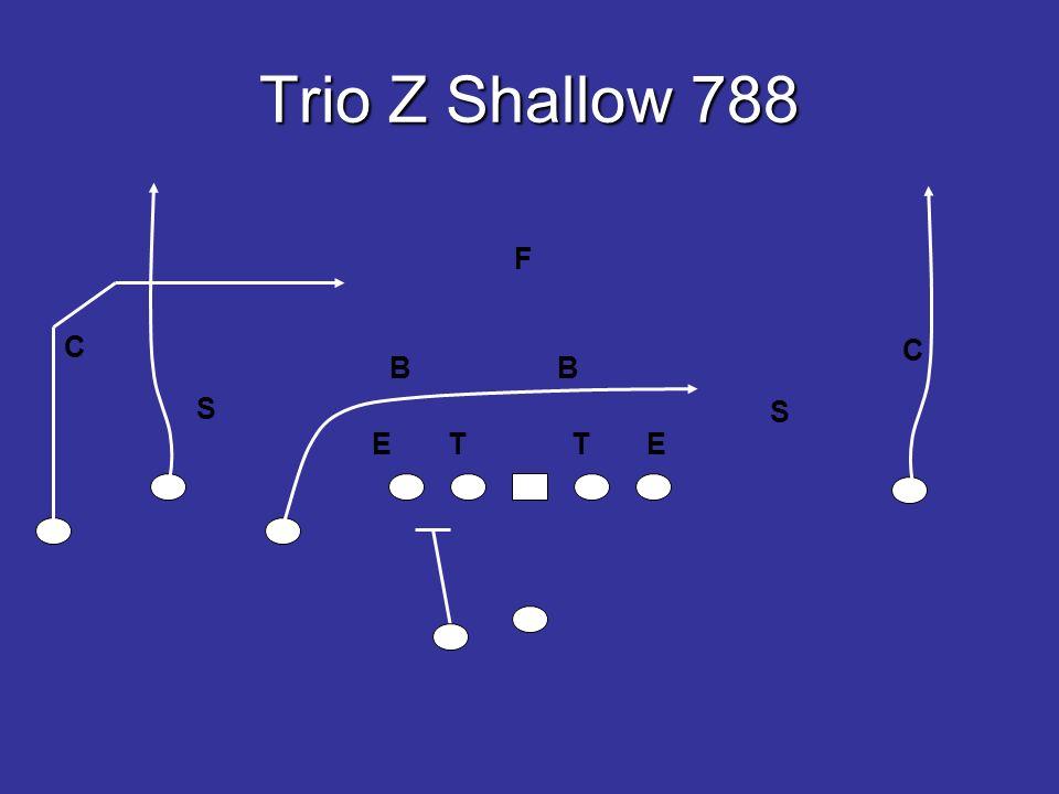 Trio Z Shallow 788 E T T E S S F C C
