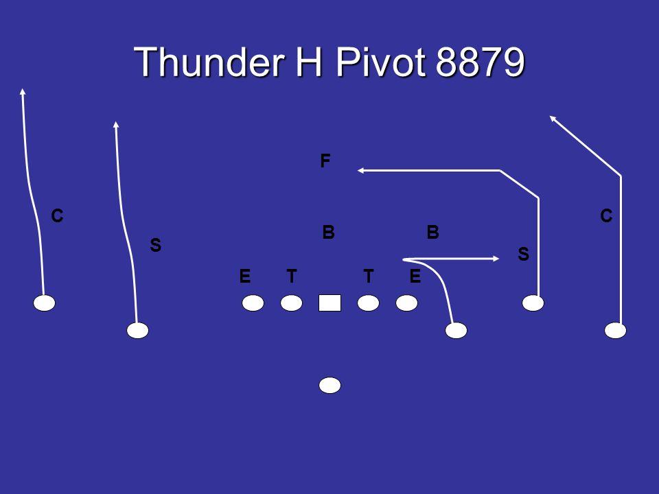 Thunder H Pivot 8879 E T T E B B S S F CC