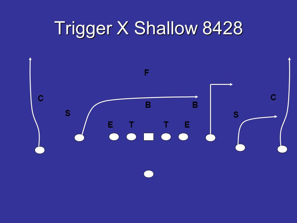 Trigger X Shallow 8428 E T T E B B S S F C C