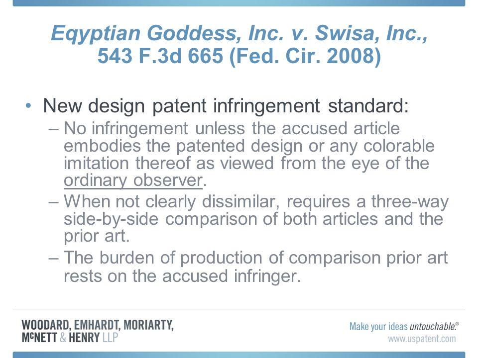 Eqyptian Goddess, Inc. v. Swisa, Inc., 543 F.3d 665 (Fed.