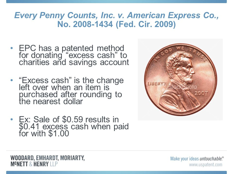 Every Penny Counts, Inc. v. American Express Co., No.