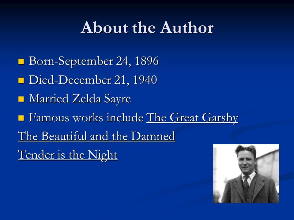 F. Scott Fitzgeralds The Great Gatsby
