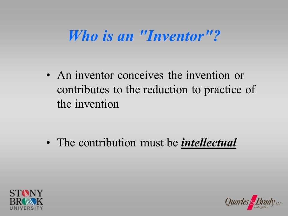 Who is an Inventor .