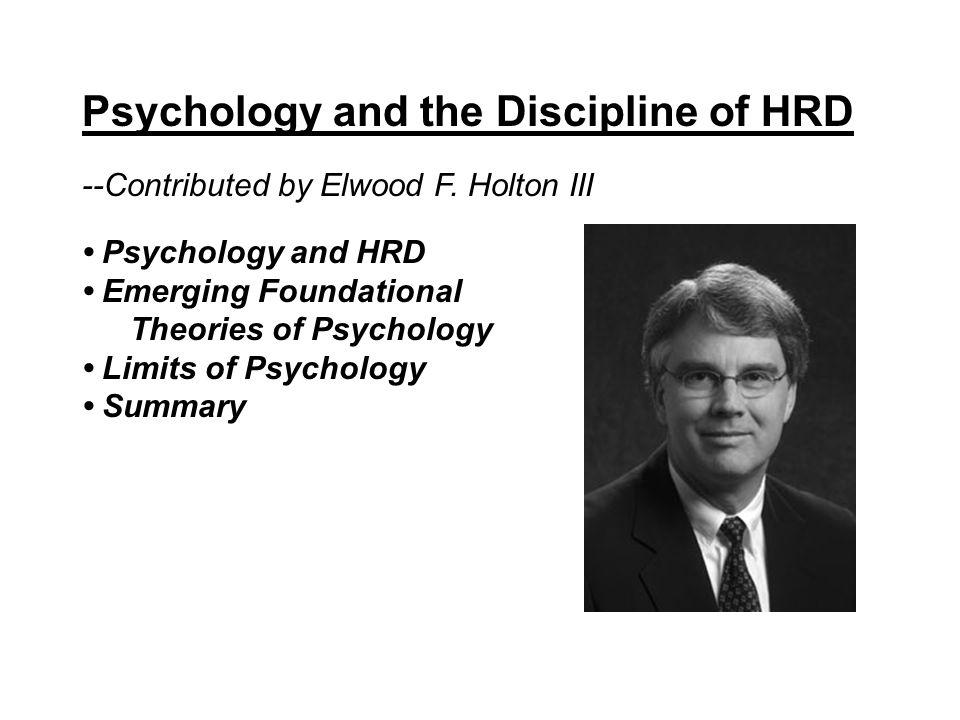 Economics, Human Capital Theory, and Human Resource Development --Contributed by Richard J.
