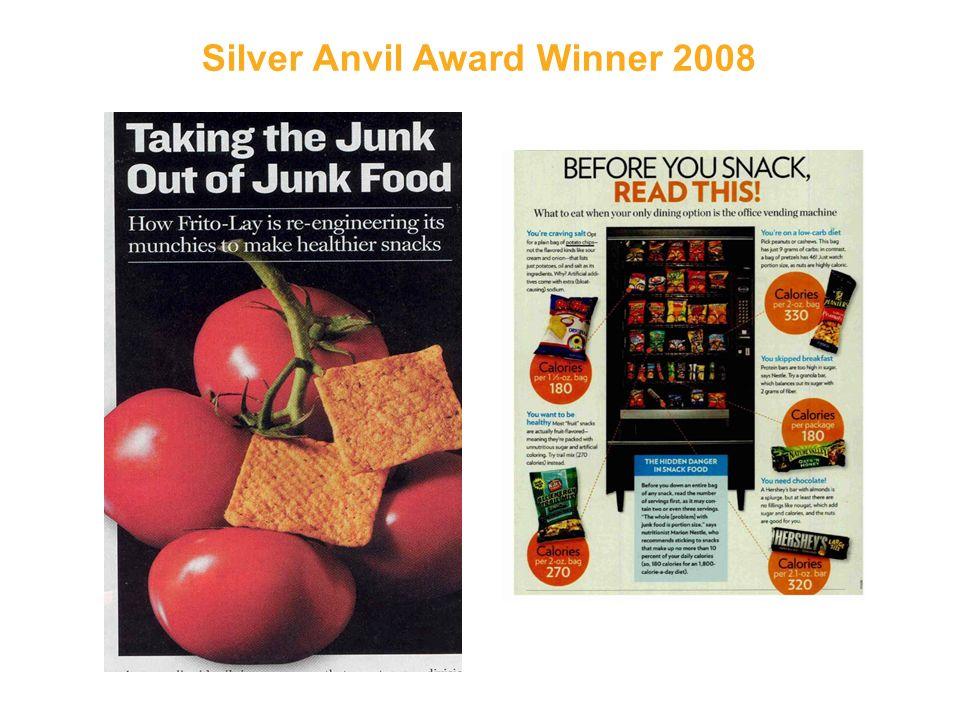 Silver Anvil Award Winner 2008