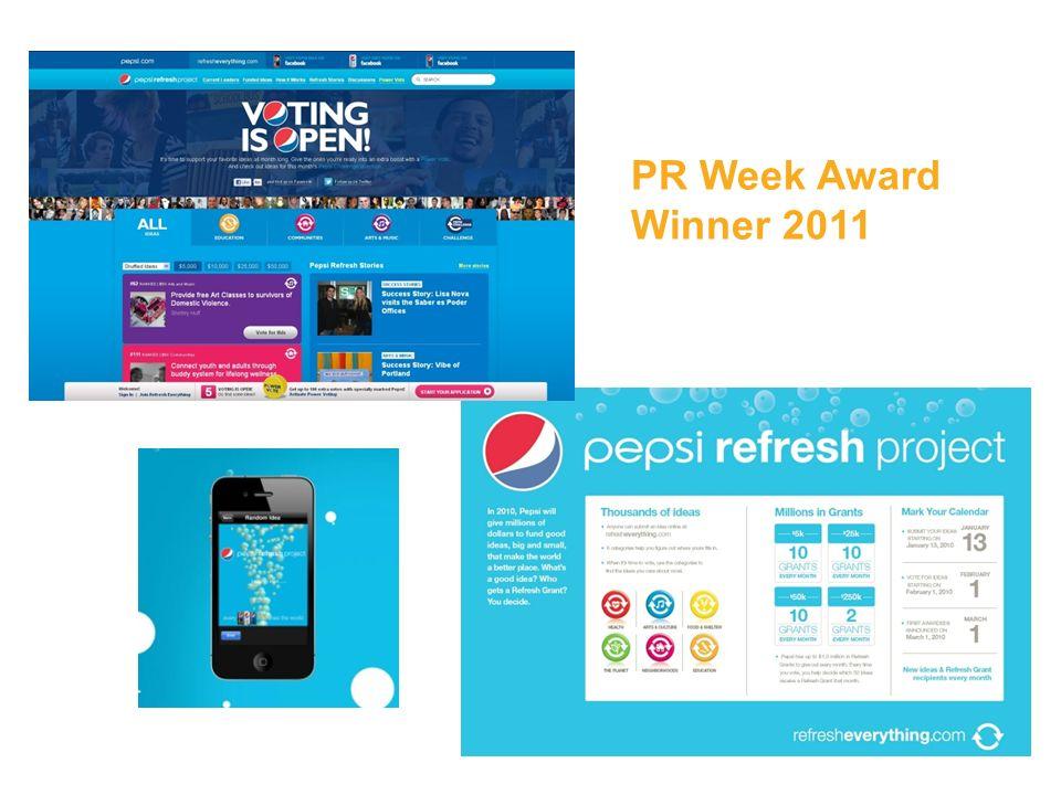 PR Week Award Winner 2011
