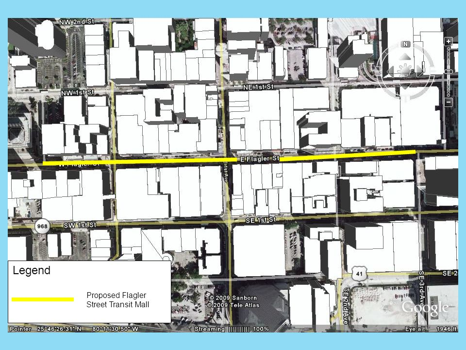 Proposed Flagler Street Transit Mall