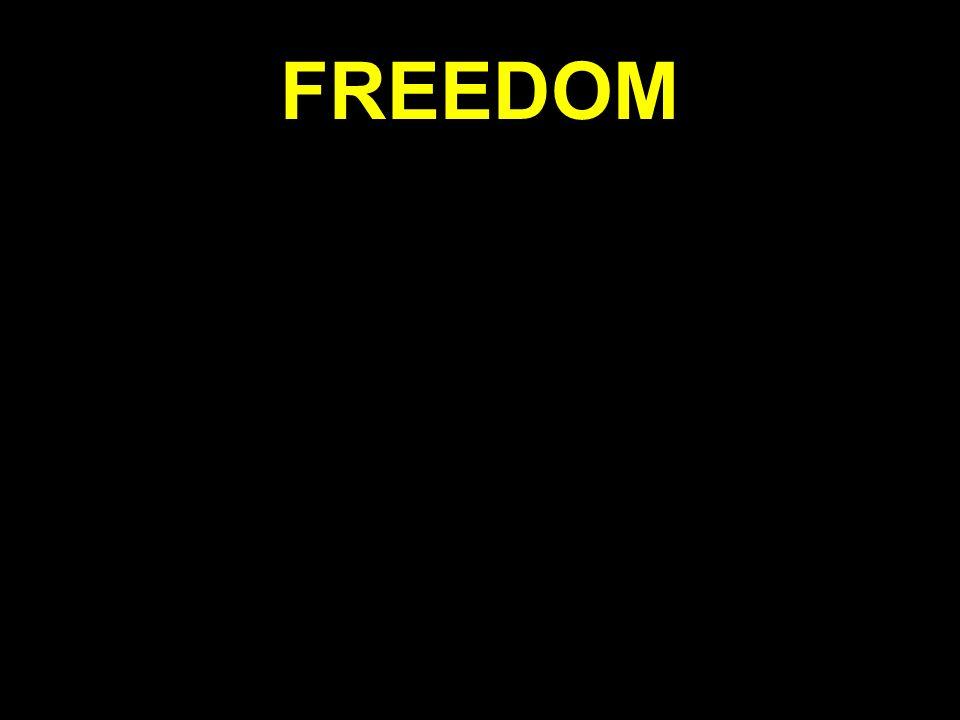 So how do you get free.