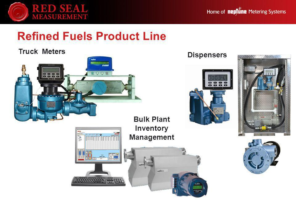Truck Meters Refined Fuels Product Line Bulk Plant Inventory Management Dispensers