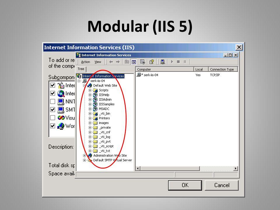 Modular (IIS 5)