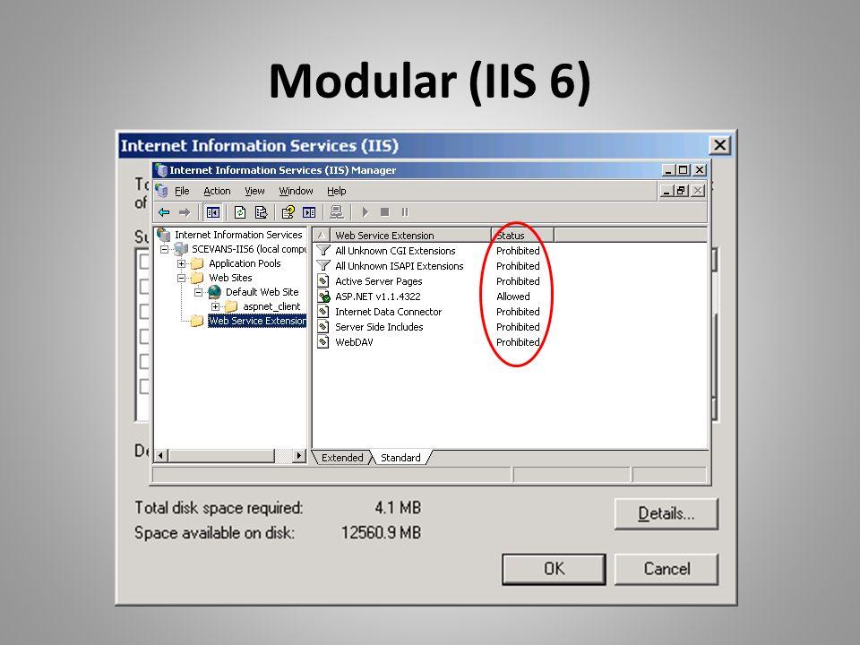 Modular (IIS 6)