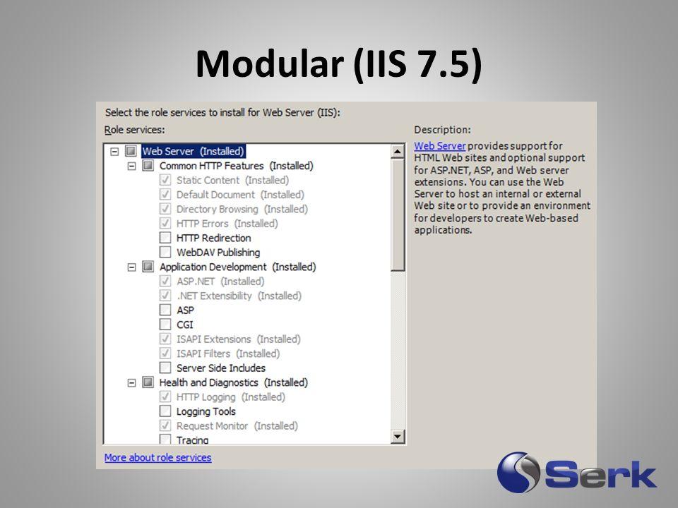 Modular (IIS 7.5)