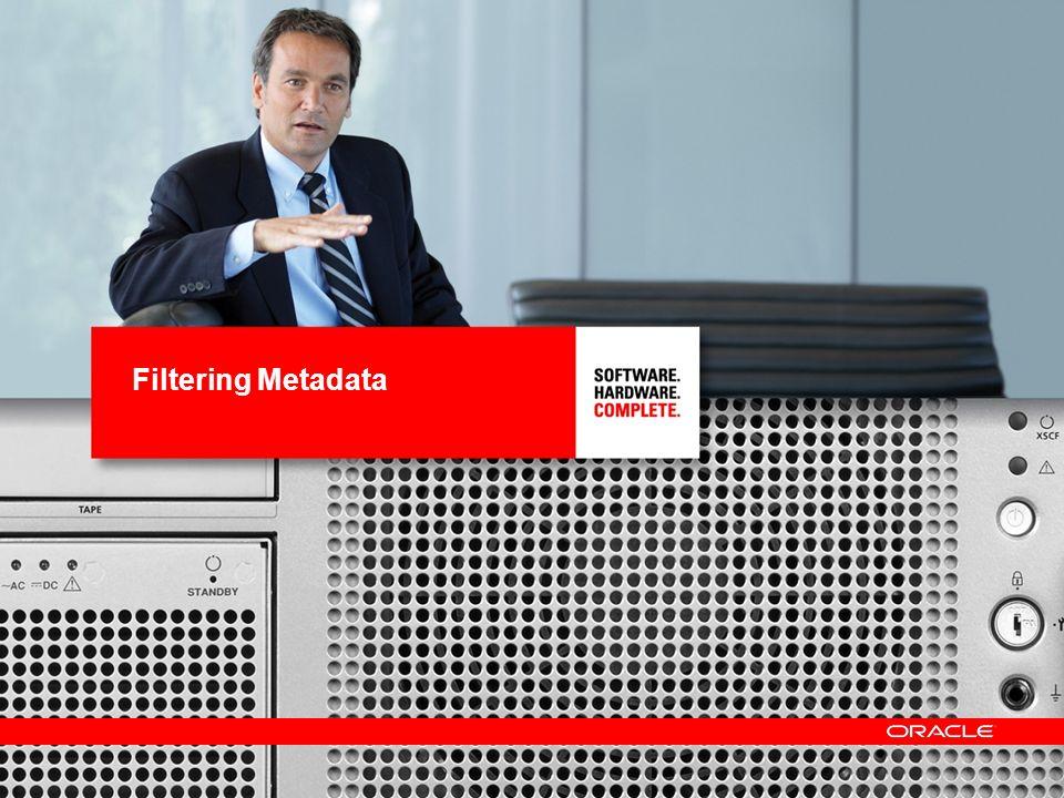 13 Filtering Metadata