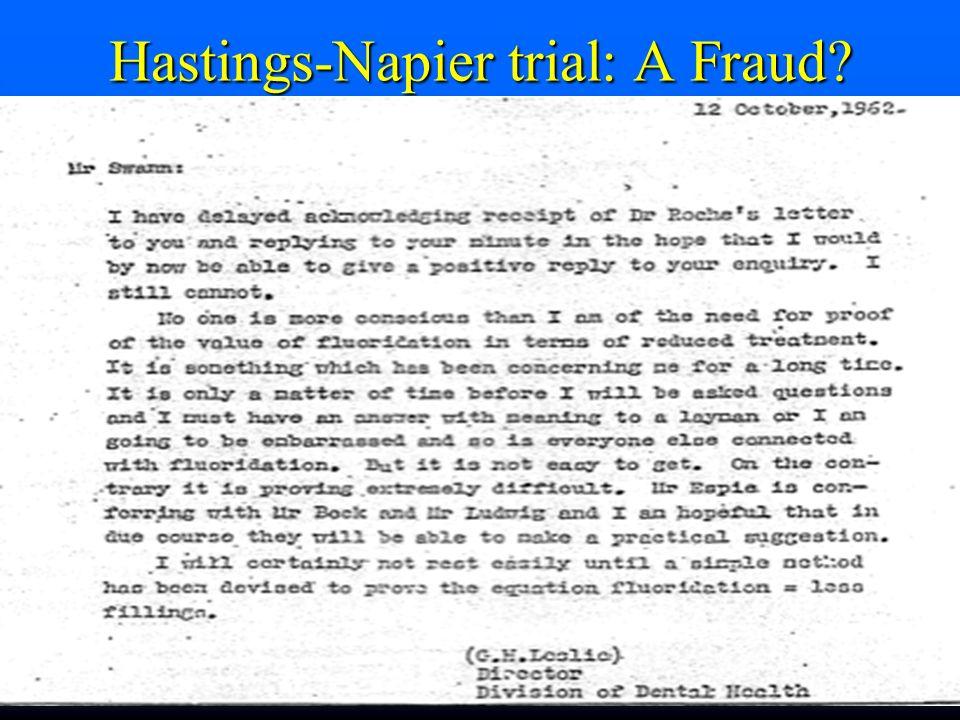 Hastings-Napier trial: A Fraud?
